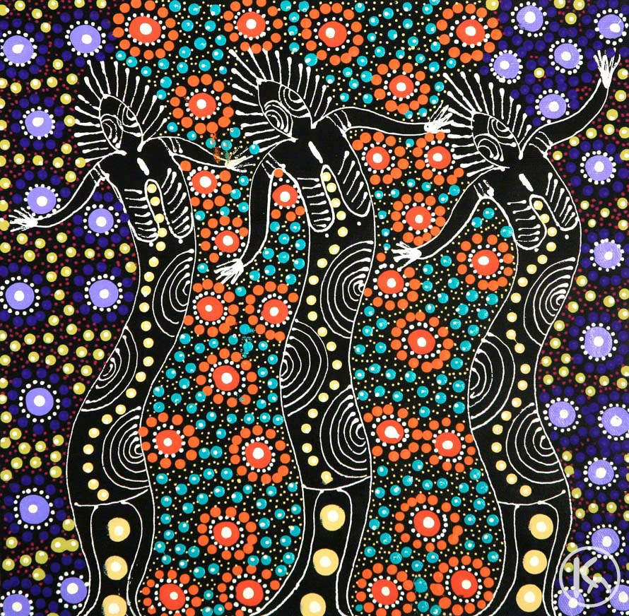 Dreamtime Sisters (08111399), Colleen Wallace Nungari