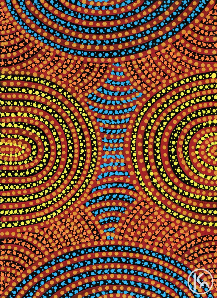 Aboriginal Body Painting (0851090), Colleen Wallace Nungari