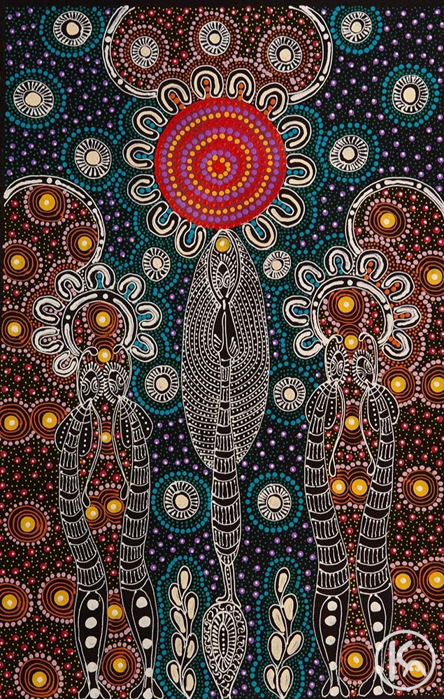Dreamtime Sisters (20102823), Colleen Wallace Nungari