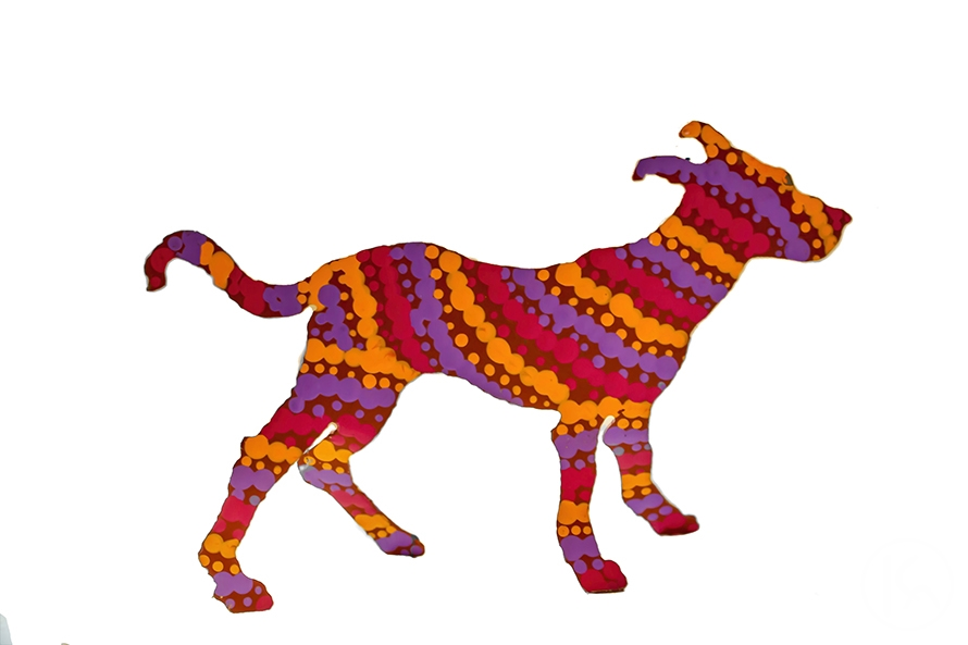 Dog Lulu (032), Warlukurlangu Artists